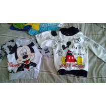 Casacas Y Poleras Disney Mickey Mouse 2 3 4 5 Años