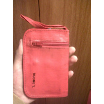 Yh Antigua Cartera Monedero Billetera Roja Rudmel Cambio