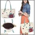 Bolso Fossil Zb5373 Hunter Applique Flower Shopper Bag