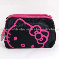Lindo Y Práctico Cosmetiquero Hello Kitty Sanrio,