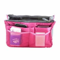 Organizador Acolchada De Bolsos Carteras Color Rosa New