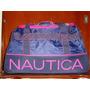 Maletin / Maleta Nautica Con Tonos Rosas
