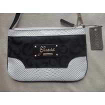 Cartera Guess 100% Original Con Etiquetas Black Logo 2015