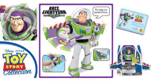 Buzz Lightyear Toy Story Collection Thinkway Toys, Navidad