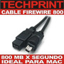 Cable Firewire 800 Video Digital Mac Edicion Digital