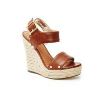Zapatos Sandalia Guess Cuna Plataforma Rojo ... 8.5 39 Stock
