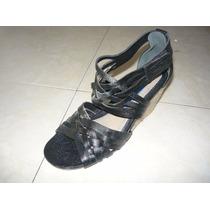Sandalias,zapatos Foresta Talla 35 Taco 7 Nuevos Con Caja