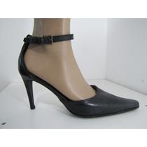 Zapatos Keneth Cole Italia - Cuero Negro Talla 9m (40)