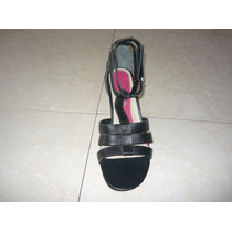 Sandalias,zapatos Foresta Talla 36 Taco 7 Nuevos En Caja