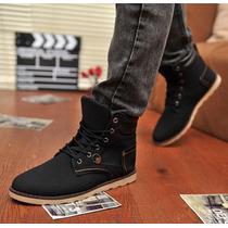 Calzado Hombres Botines Casual Leather