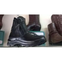 Botas Motocross Hombre, Zapatos Seguridad Calzado Cuero