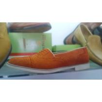 Mocasines Cuero Hombre Gamuzon Calzado Vestir Zapatos, Botas
