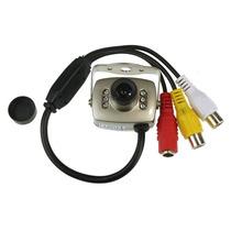 Mini Camara De Seguridad Espia Pinhole Color Video Y Sonido