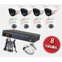 Oferta Kit 8 Camaras Cctv Hd 720p Infrarrojo 20m Disco 1tb