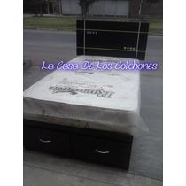 Cama 2 Plazas Con Sabanera ( Articulo Nuevo )