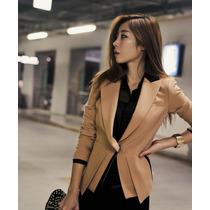 Chicas Glamorosas - Blazer Elegante Diseño Coreano Importado