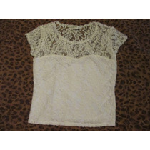 Abercrombie Blusa Crop Top Mujer Talla Small
