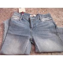 Hermoso Pantalon Jean Para Dama Marca Lei Tallla 28 Importad