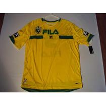 Polo De Brazil Talla Medium Marca Fila Original