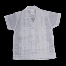Finisimas Camisas Guayaberas Para Niños