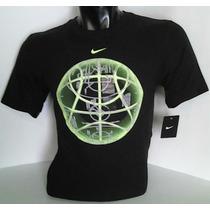Polo Nike Modelo Globe Fosforecente Desde Nike-usa Talla[m]