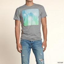 Polo Hollister T-shirt Hollister Trestles Beach Talla S