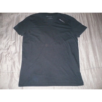 Polo-6 Cuello V , Kenneth Cole ( Negro ) : Talla M