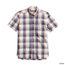 Camisa H&m Manga Corta 100% Algodon Talla S,l