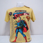 Regala Dia Enamorados Polo Vintage Superman Talla M Dc Comic