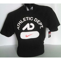 Polo Marca Nike Logo Athletic Dept Modelo Nike-usa Talla[l]