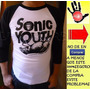 Polos Sonic Youth Para Damas Y Caballeros Y Niños