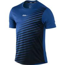 Polo Nike Run Logo Pinwheel Dri-fit Exclusivo De Nike-usa Xl