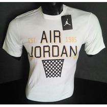 Polo Jordan Retro Logo Air Jordan 1985 Desde Nike-usa [m]