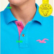 Polo Hollister Camisero 100% Original T-shirt