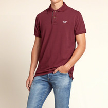 Polo Camisero Hollister Talla L