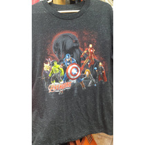 Polo Superheroes Marvel Original Talla Small