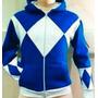 Sudadera Power Rangers Original Hombre Azul Triceraptops