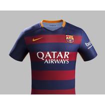 Camiseta Nike F.c Barcelona 2015 - 2016 Original