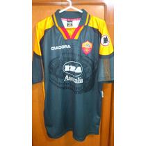 Camiseta Diadora Roma 1997 Talla Xl Original De La Epoca