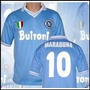 Camiseta Napoli Diego Maradona Retro Envio De Argentina