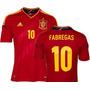 Camisa Da España - Modelo 2012 - Euro Copa
