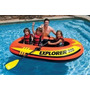 Bote Inflable Explorer 300 Intex Para 2 Camping Playa Picina