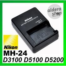 Cargador Original Nikon Mh24 D5100 D5200 D3100 D3200 En-el14