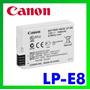 Bateria Original Canon Lp-e8 T2i T3i T4i T5i 600d 650d Lpe8