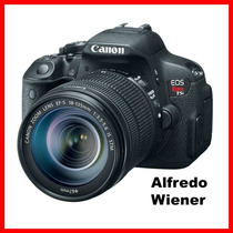 Cámara Canon T5i Kit Con Lente 18-135mm + Memoria 16gb Nuevo