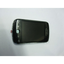Carcasa Completa Blackberry Curve 9380 - Color Negro