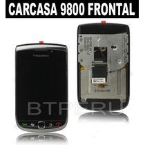 Carcasa Frontal Blackberry 9800 Pantalla Lcd Tactil Flex