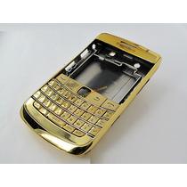 Blackberry Bold 9700 Carcasa Dorada Completa + Mica Pantalla