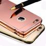 Case Bumper Aluminio Espejo Para Iphone 5s 6 Plus 6s Plus