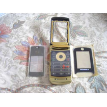 Pedido Carcasa Motorola Original V8 Gold Color Oro